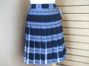 Garfield Plaid Skirt