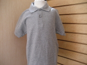 Gray Polo for Boys and Girls