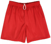 P.E. Red Mesh Shorts K-8th