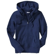 Navy Blue Zip Down Sweatshirts PreK-8th
