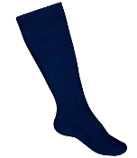 Navy Knee High Socks