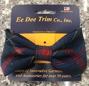 Small Wilson Plaid Bow