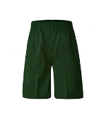 Green Boys Shorts