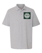 Boys and Girls Gray Polo TK-8th