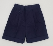 Girls Navy Shorts Tk-8th