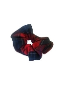 FORD PLAID SCRUNCHIE