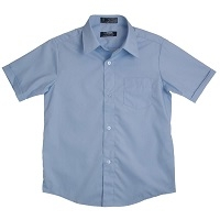 Lt. Blue Button Down Shirt