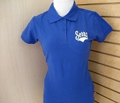 Girls Royal Blue Polo