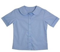 Lt. Blue Peter Pan Blouse TK-4th